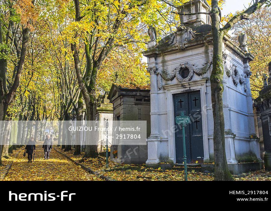 Hemis : France paris cimetiere pere lachaise grand cimetiere