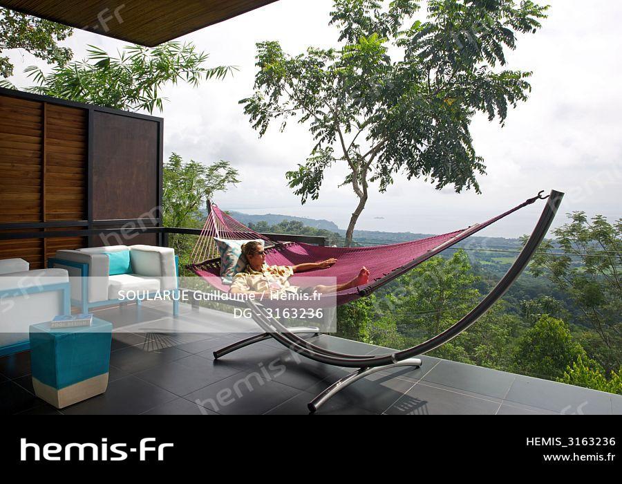 Hemis Costa Rica Peninsule Osa Homme Hamac Terrasse Suite Design