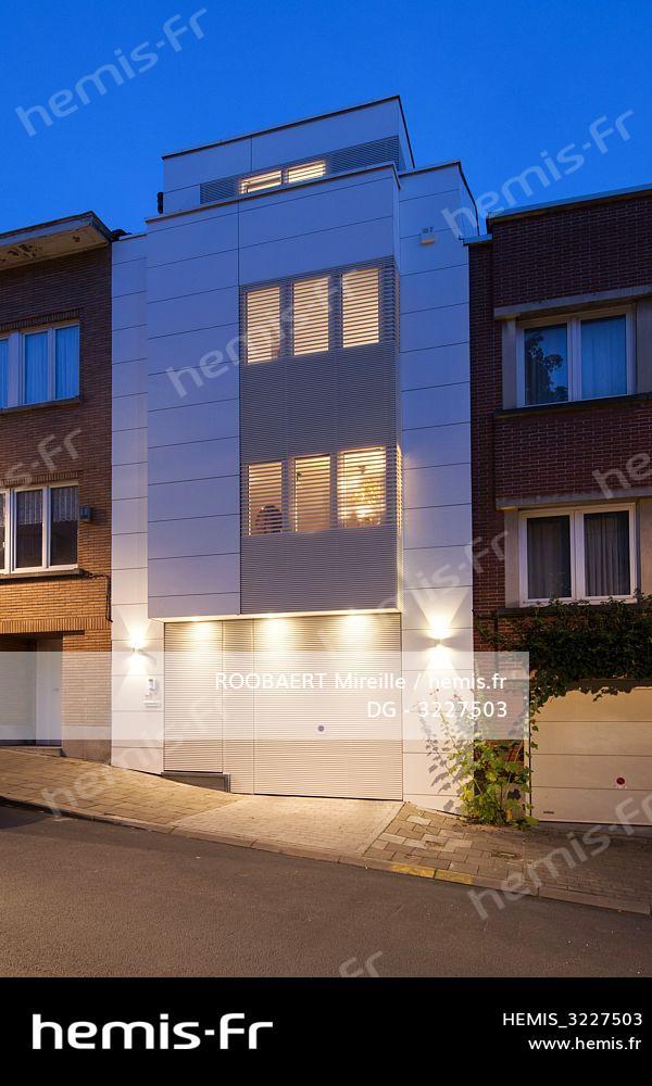 Hemis : Belgique bruxelles maison architecte cocon urbain