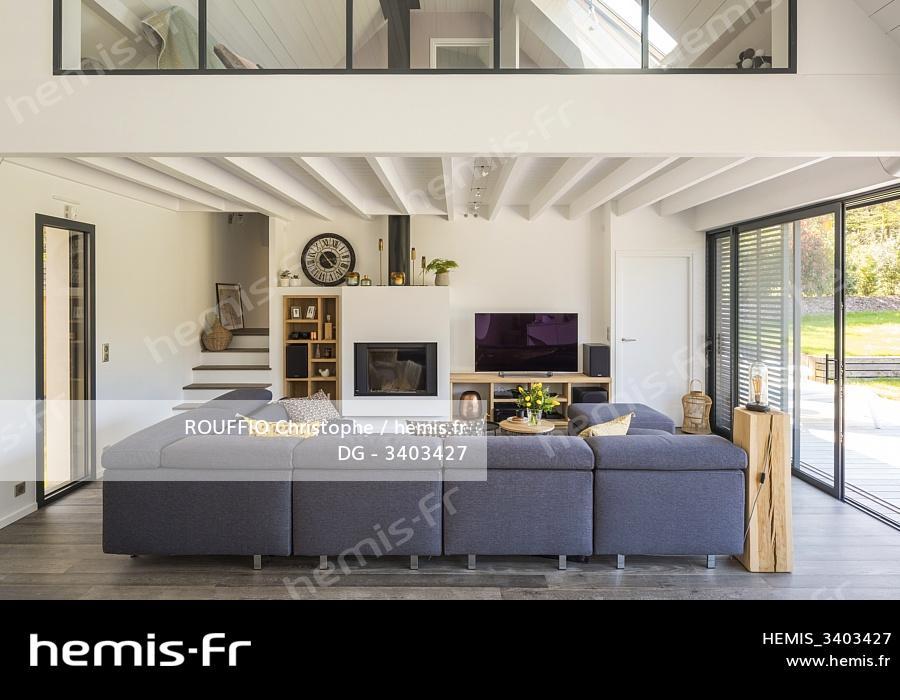 Hemis France Morbihan Longere Contemporaine Pres Vannes Decoration