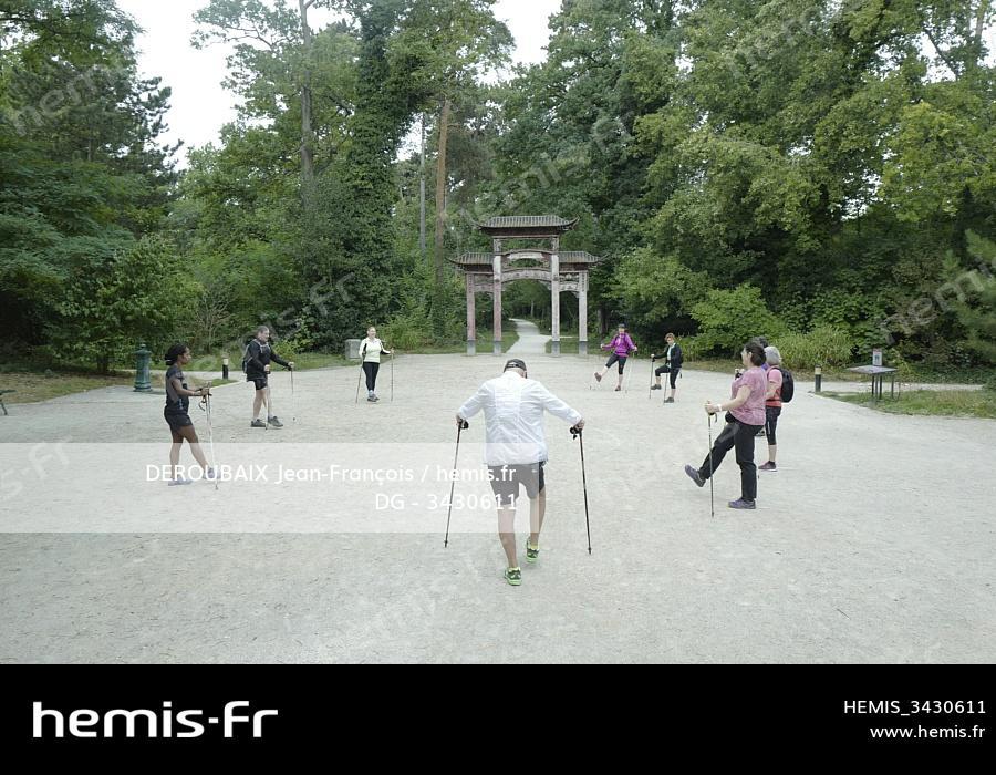 Hemis : France paris bois vincennes cours marche sportive ...