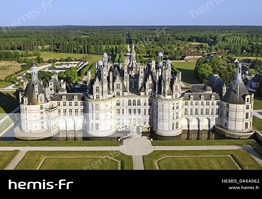 hemis france loir et cher vallee loire classee patrimoine mondial unesco chateau chambord vue. Black Bedroom Furniture Sets. Home Design Ideas